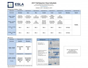 2017 Fall Schedule Rowland Heights