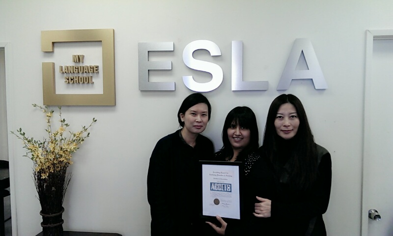 ESLA Accreditation Team