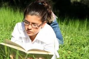 Girl-Reading-Grass