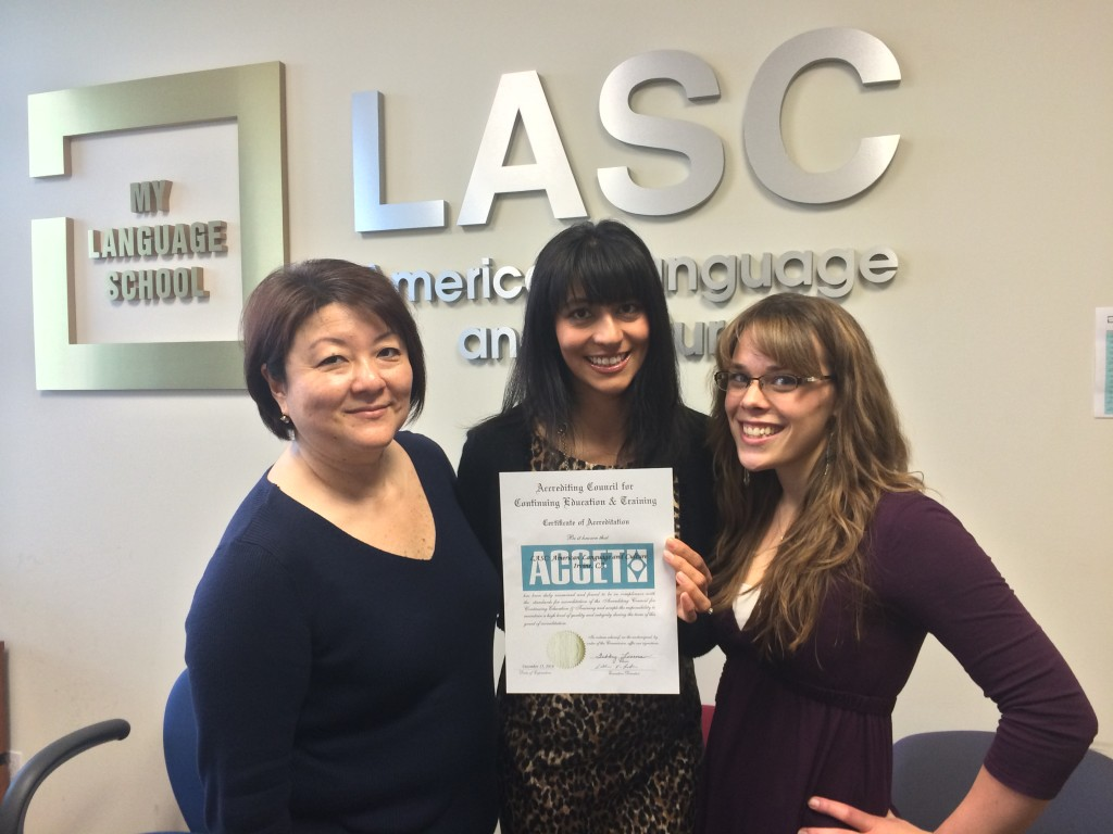LASC Irvine Accreditation Team
