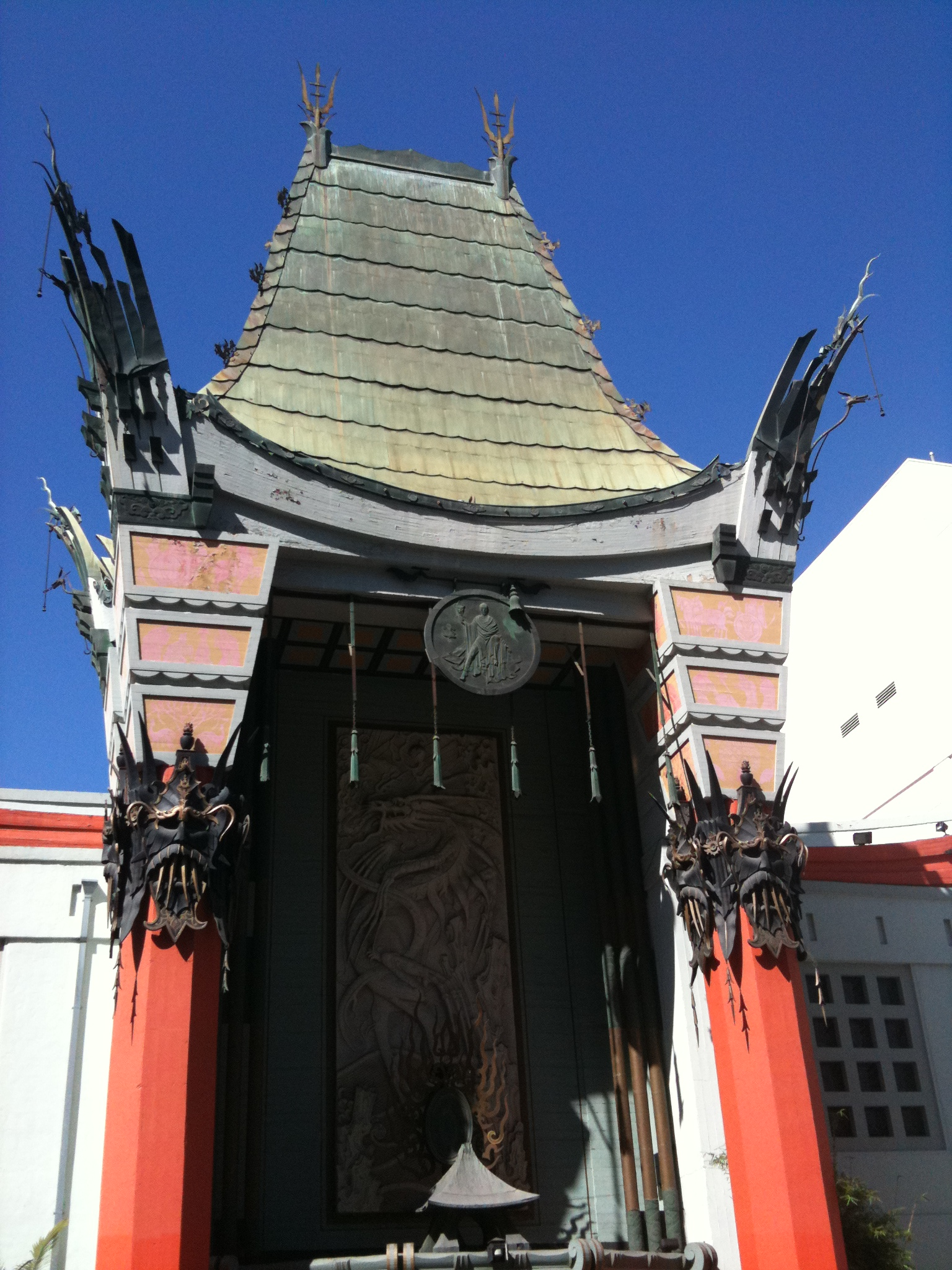 The Chinese Theater near Hollywood and Highland Station